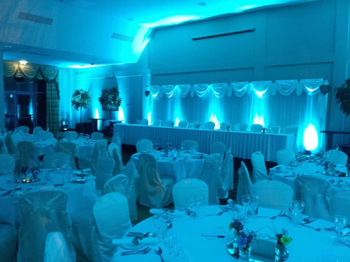Wedding Uplighting Mayo