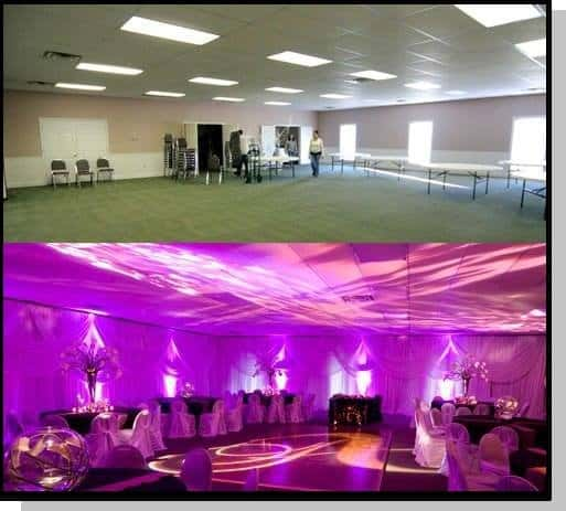 Diy Led Uplighting Rental Atlanta: DJ Tommy Elliott Wedding Uplighting Uplighters Uplighting