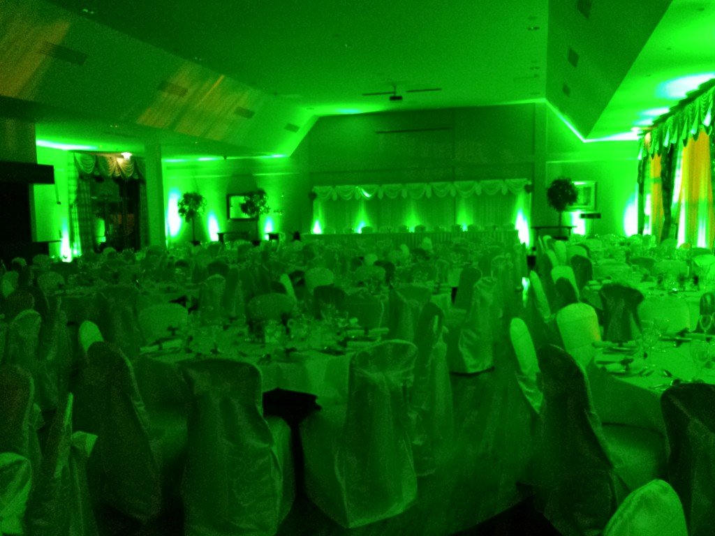 Uplighting for weddings