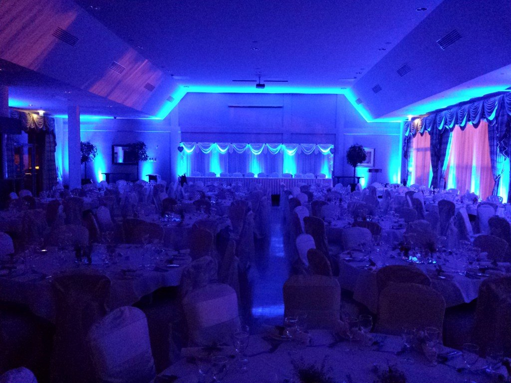 uplighters for weddings