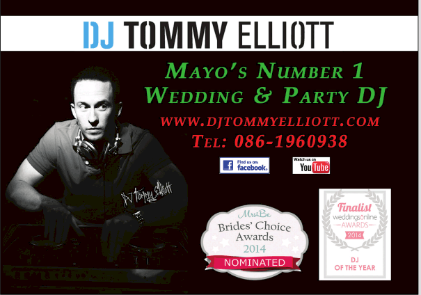 Irish wedding djs