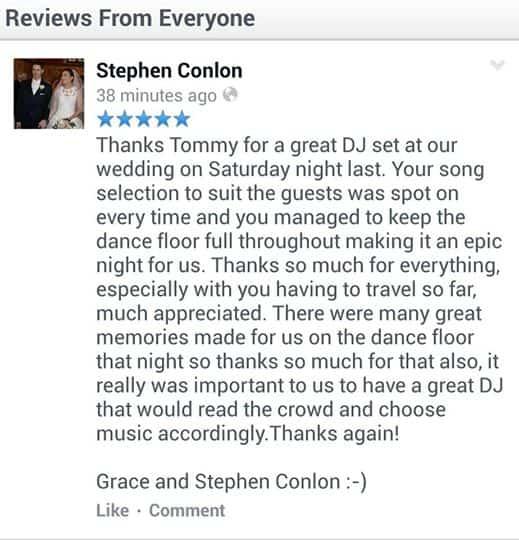 Wedding Dj Galway