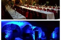 Uplighting at Belleek Castle Ballina Co Mayo.