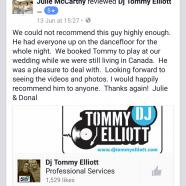 Dj Tommy Elliott Testimonial